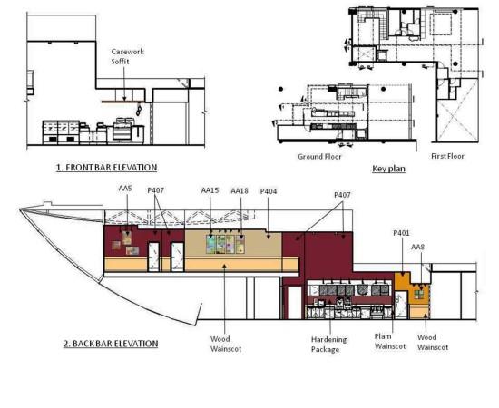 Architecture diane burant for Retail store floor plan maker